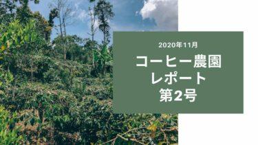 コーヒー農園オーナー制度、第2回農園レポートが届きました【2020-21年期】