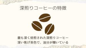 深煎りコーヒーについて